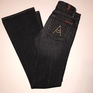7 for All Mankind Flare A Jeans